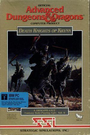 Death Knights of Krynn cover