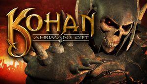 Kohan: Ahriman's Gift cover