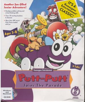 Putt-Putt Joins the Parade cover