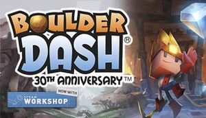 Boulder Dash - 30th Anniversary cover