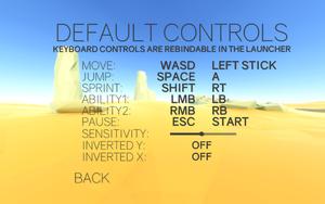 Default Controls.