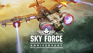 Sky Force Anniversary cover