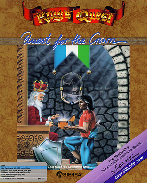 King's Quest: Quest for the Crown cover