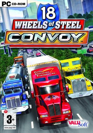 18 Wheels of Steel: Convoy cover