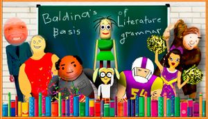 Baldina's Basis in Education Literary Grammar cover