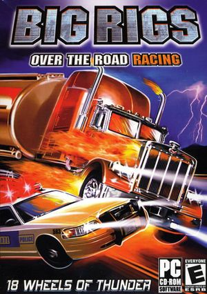 Big Rigs: Over the Road Racing cover