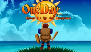 One Day: The Sun Disappeared cover