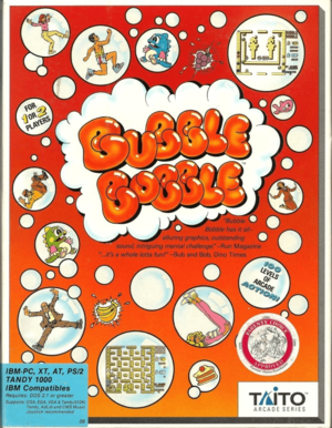 Bubble Bobble cover