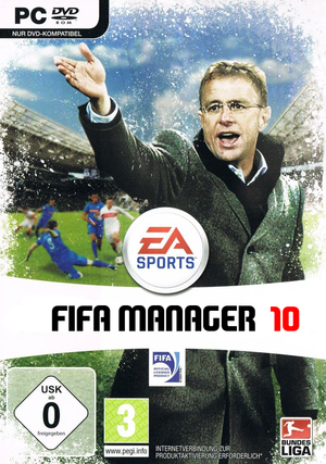 FIFA Manager 10 cover