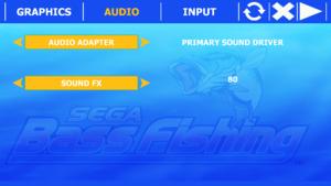 Sega Bass Fishing (Steam) - PCGamingWiki PCGW - bugs, fixes, crashes