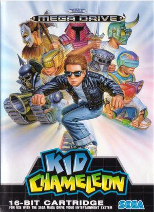 Kid Chameleon cover