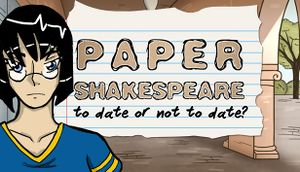 Paper Shakespeare: To Date or Not to Date? cover