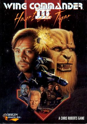 Wing Commander III: Heart of the Tiger cover
