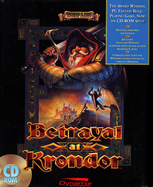Betrayal at Krondor cover
