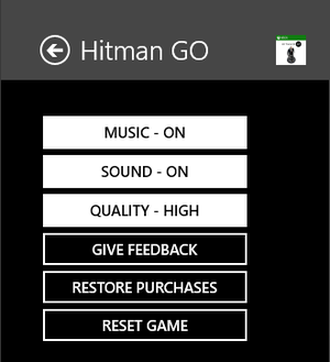 General settings, MS Store edition.
