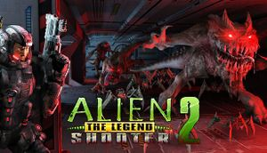 Alien Shooter 2 - The Legend cover