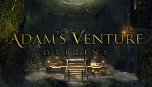 Adam's Venture Origins cover