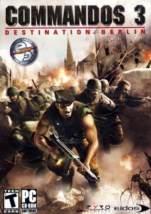 Commandos 3: Destination Berlin cover