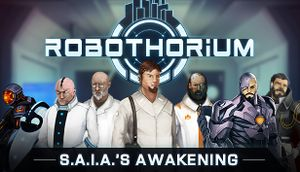 S.A.I.A.'s Awakening: A Robothorium Visual Novel cover