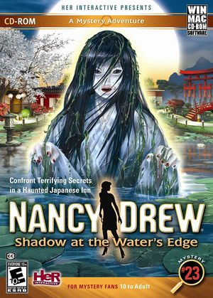 Nancy Drew: Shadow at the Water's Edge cover