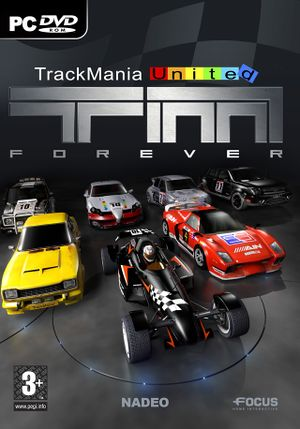 TrackMania United Forever cover