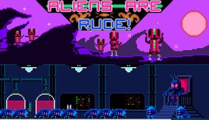 Aliens Are Rude! cover
