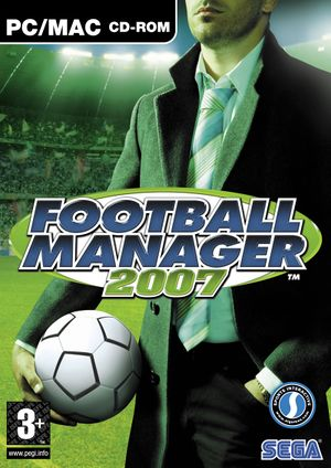 Football Manager 2007 cover