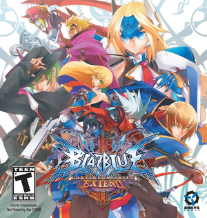 BlazBlue: Continuum Shift Extend cover