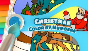 Color by Numbers - Christmas cover