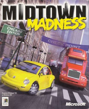 Midtown Madness cover