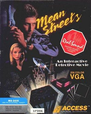 Tex Murphy: Mean Streets cover
