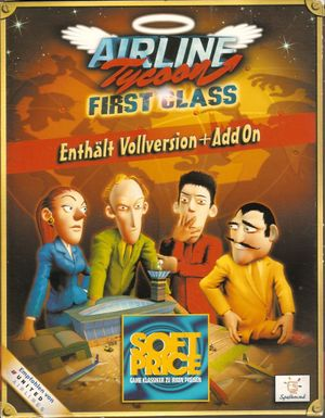 Airline Tycoon First Class cover