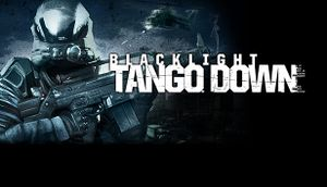 Blacklight: Tango Down cover