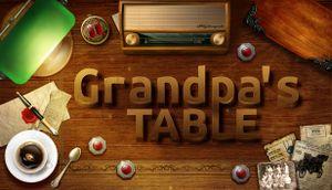 Grandpa's Table cover