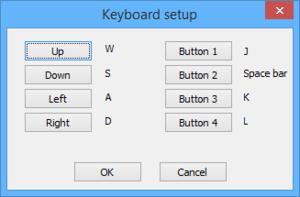 Key remapping menu.