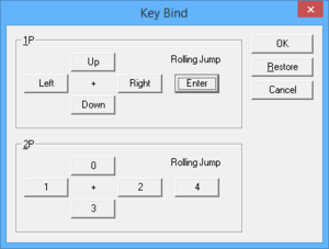 Key remapping.