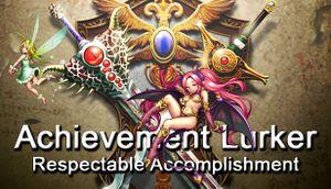Achievement Lurker: Respectable Accomplishment cover
