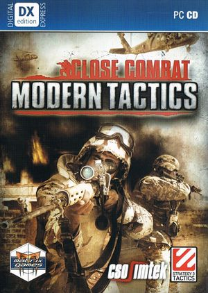 Close Combat: Modern Tactics cover