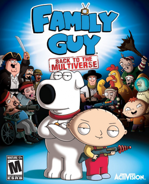 Family Guy: Back to the Multiverse cover