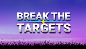 Break the Targets cover