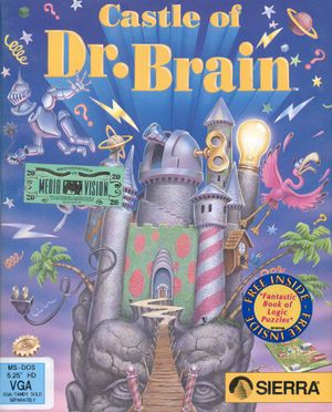 Castle of Dr. Brain cover