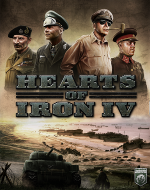 Hearts of Iron IV cover