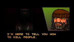 Hotline Miami is letterboxed.