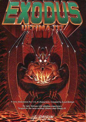 Ultima III: Exodus cover