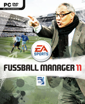 FIFA Manager 11 cover