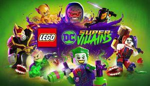 Lego DC Super-Villains cover