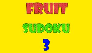 Fruit Sudoku🍉 3 cover