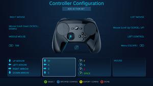 Configuration menu.