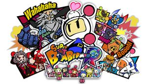 Super Bomberman R cover