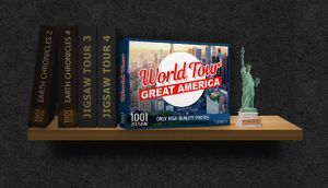 1001 Jigsaw. World Tour: Great America cover